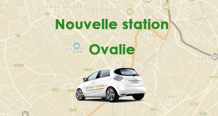 Nouvelle station : Ovalie